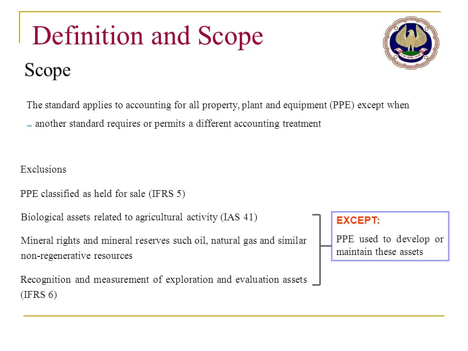 Definition and Scope Scope
