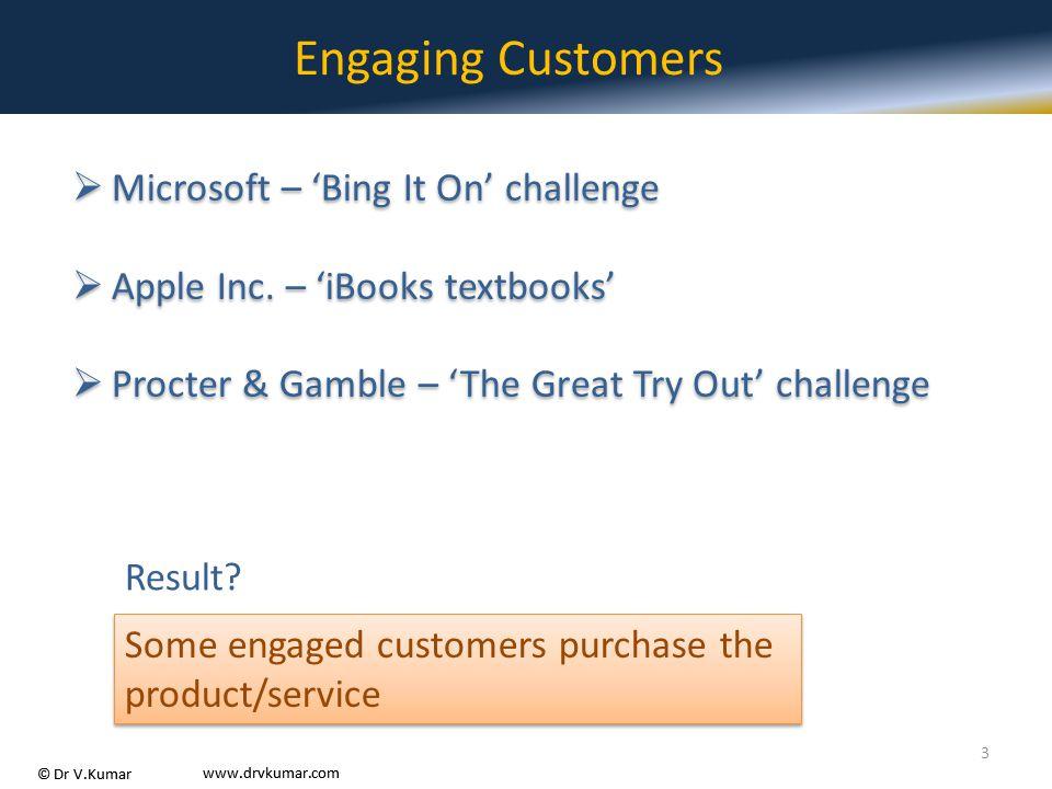 Engaging Customers Microsoft – 'Bing It On' challenge
