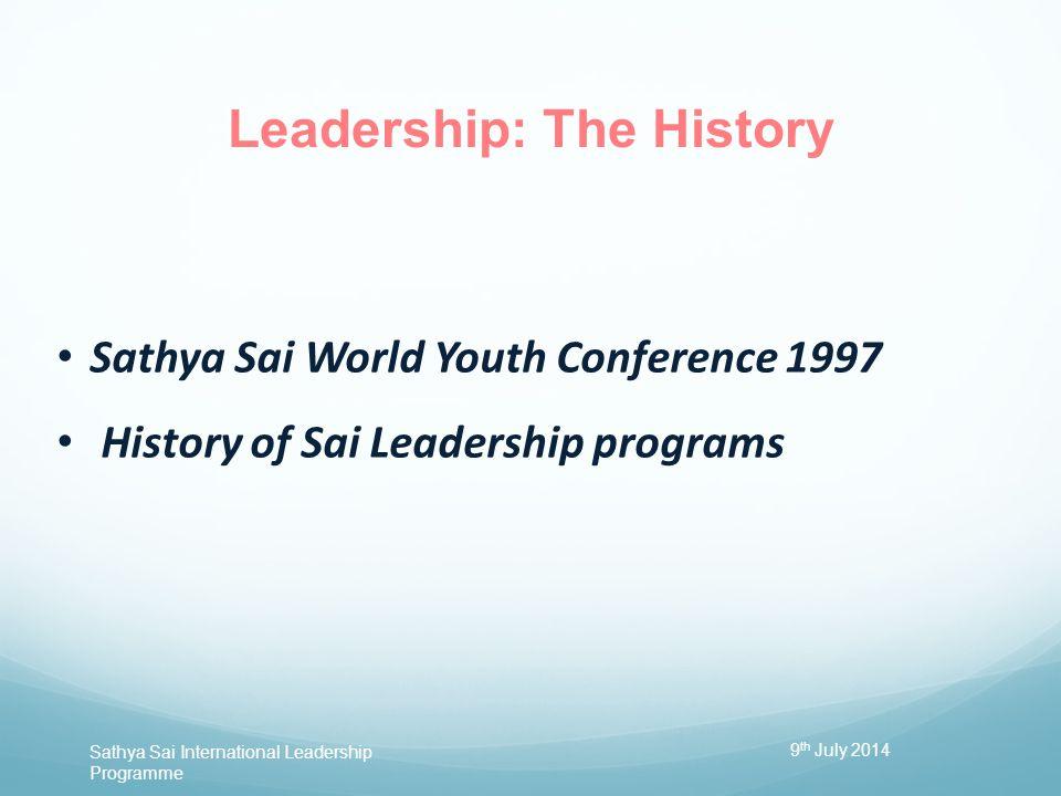 Leadership: The History