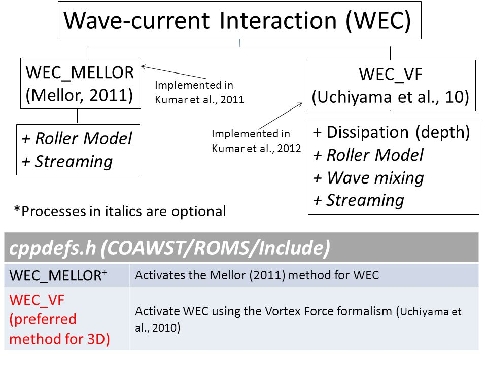 Wave-current Interaction (WEC)