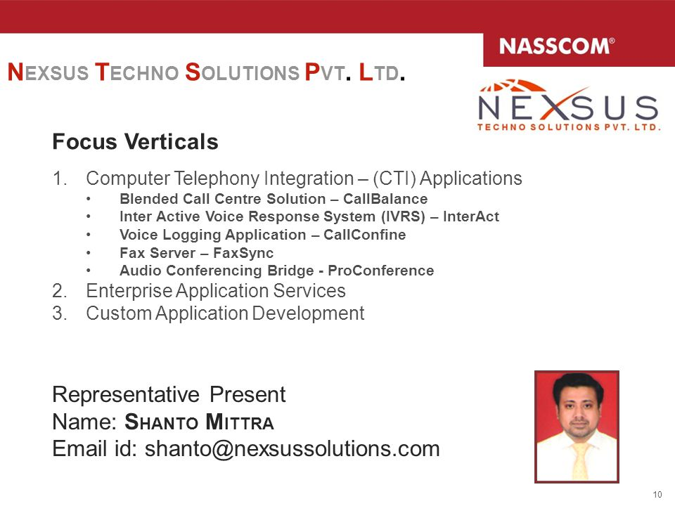 NEXSUS TECHNO SOLUTIONS PVT. LTD.