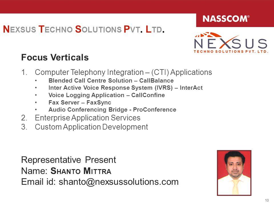 NEXSUS TECHNO SOLUTIONS PVT. LTD.