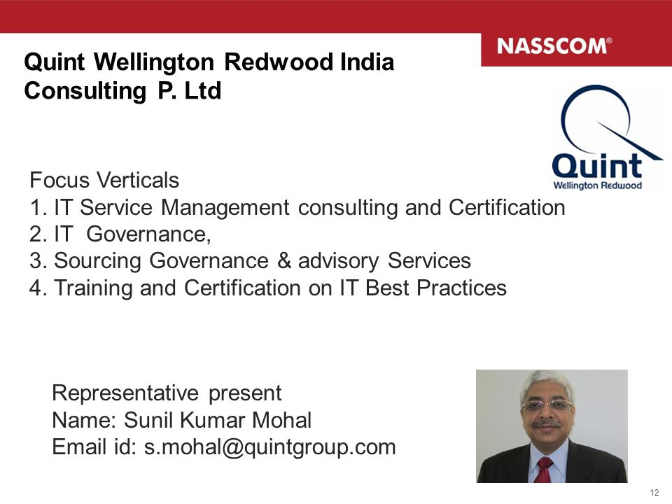 Quint Wellington Redwood India Consulting P. Ltd