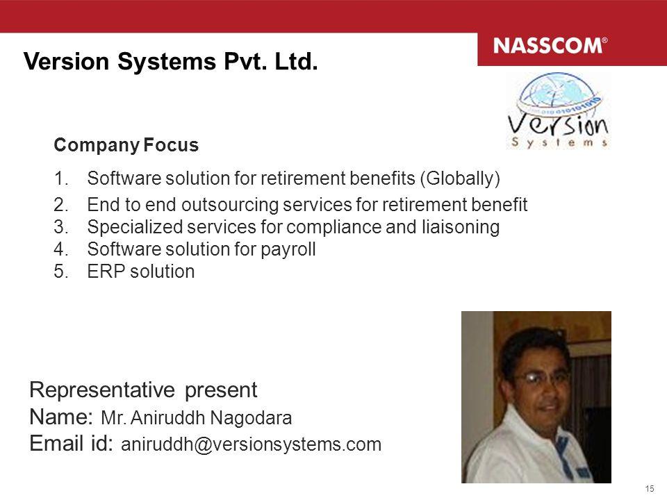 Version Systems Pvt. Ltd.