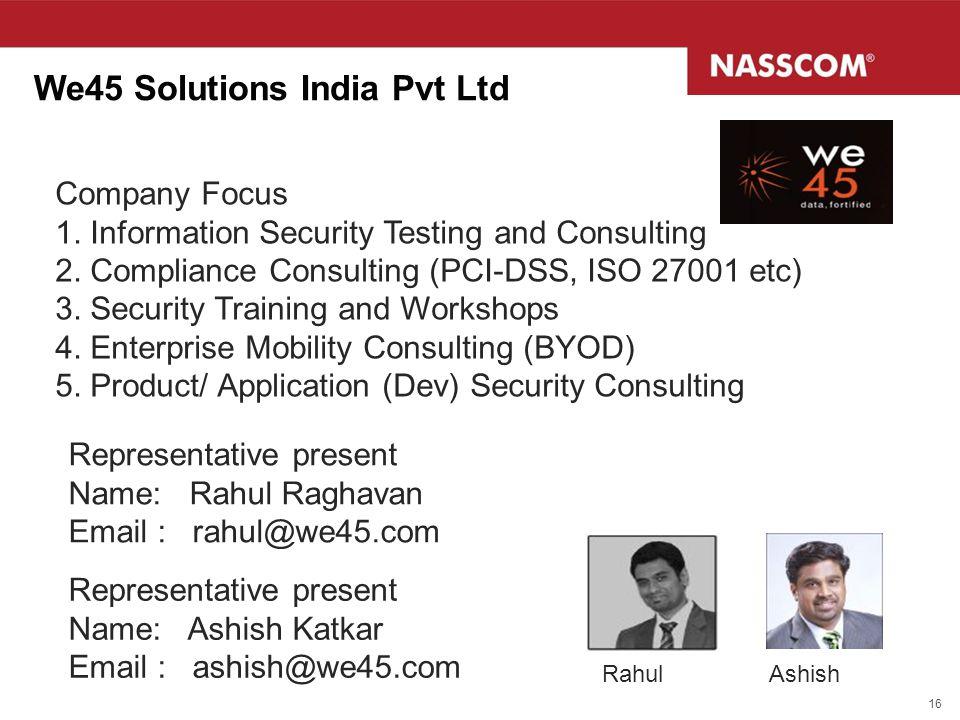 We45 Solutions India Pvt Ltd