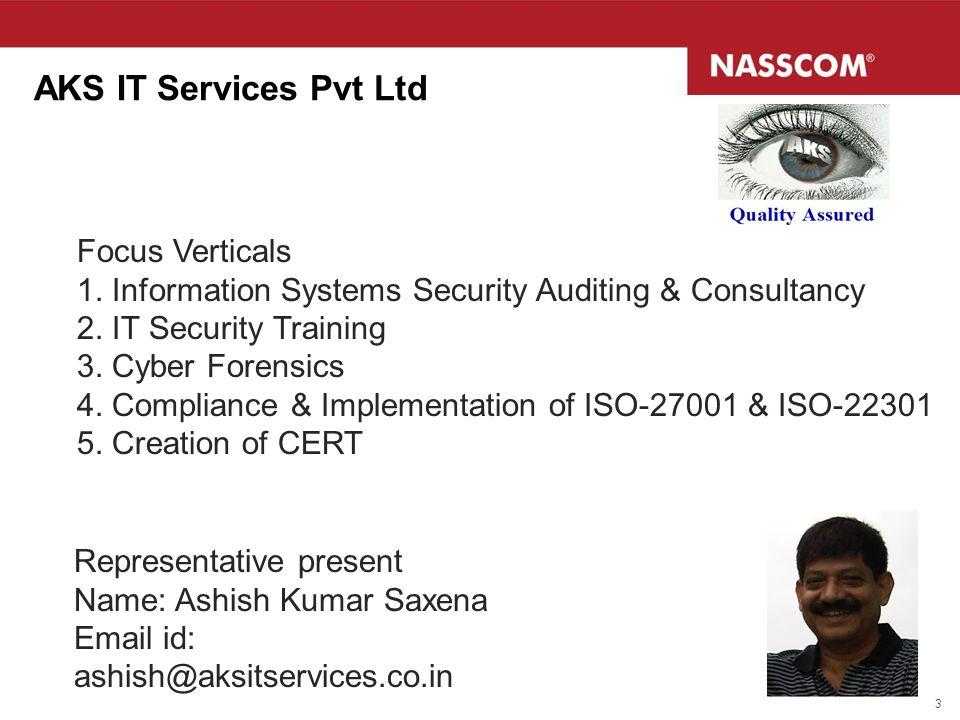AKS IT Services Pvt Ltd Focus Verticals