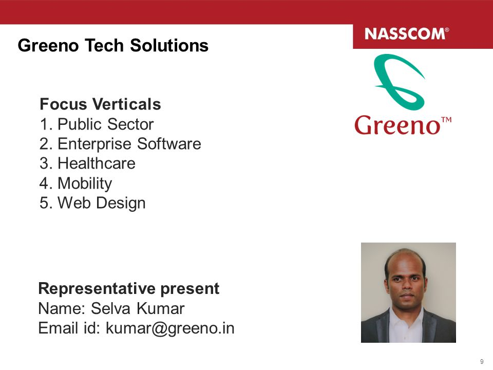 Greeno Tech Solutions Focus Verticals 1. Public Sector