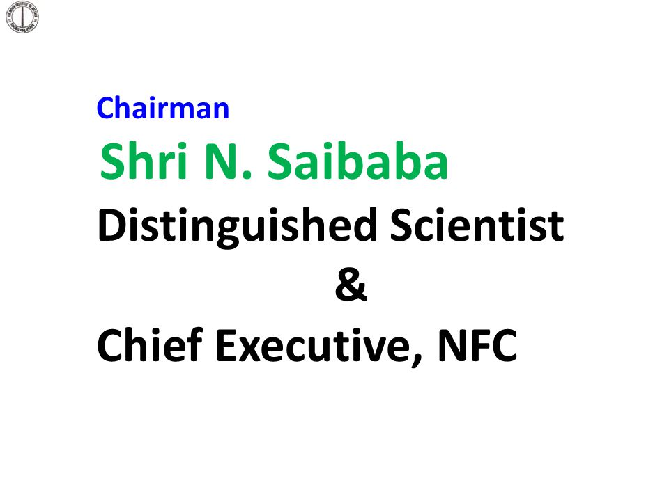 Distinguished Scientist & Chief Executive, NFC
