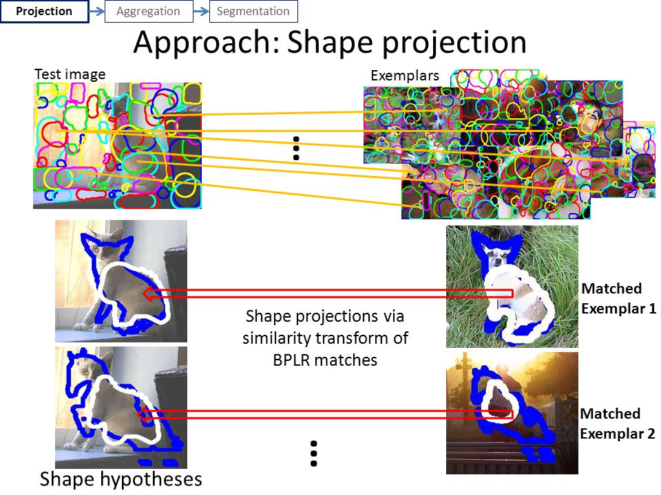Approach: Shape projection