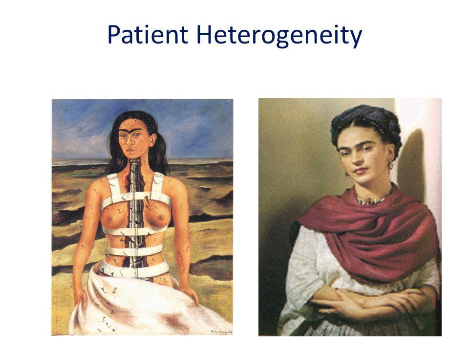 Patient Heterogeneity