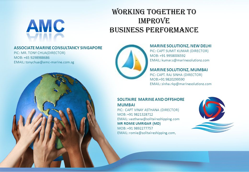 Working together to Improve business performance