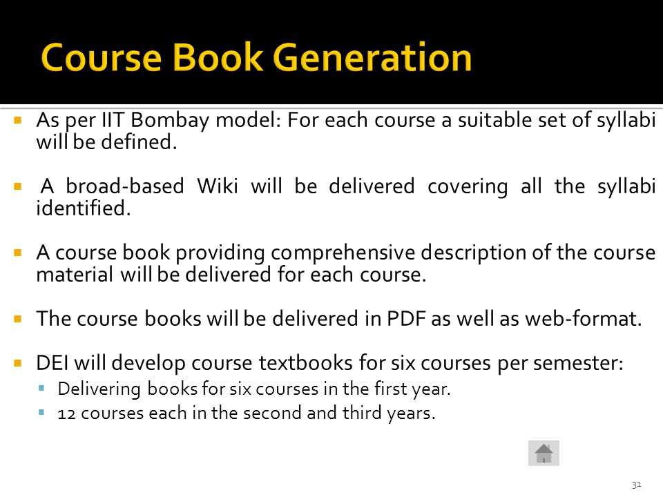 Course Book Generation