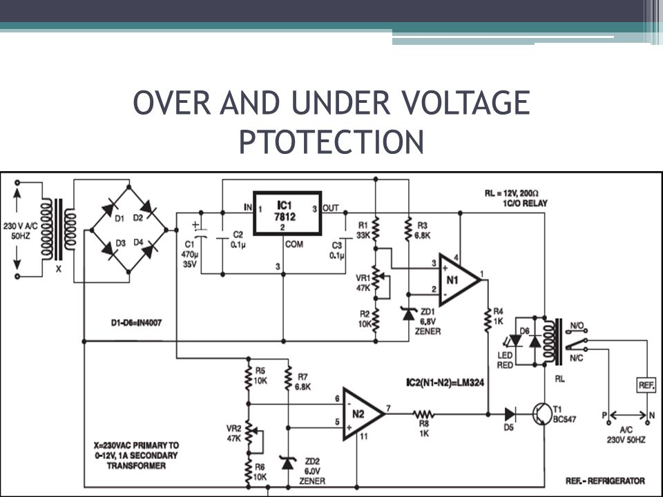 OVER AND UNDER VOLTAGE PTOTECTION