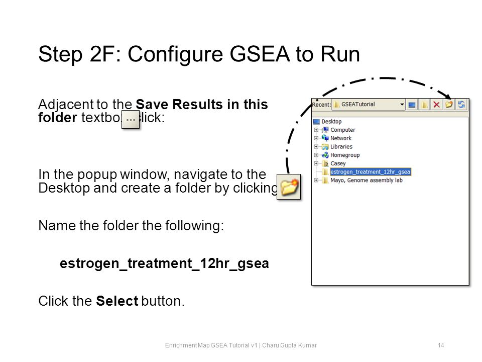 Step 2F: Configure GSEA to Run