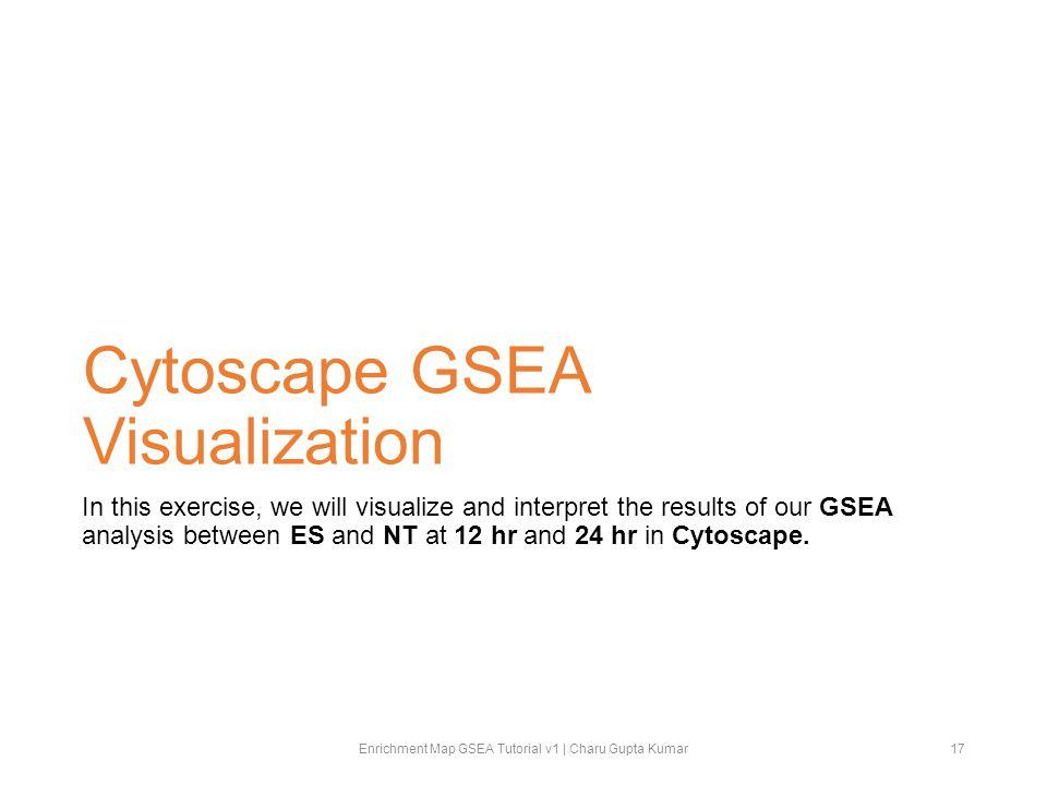 Cytoscape GSEA Visualization