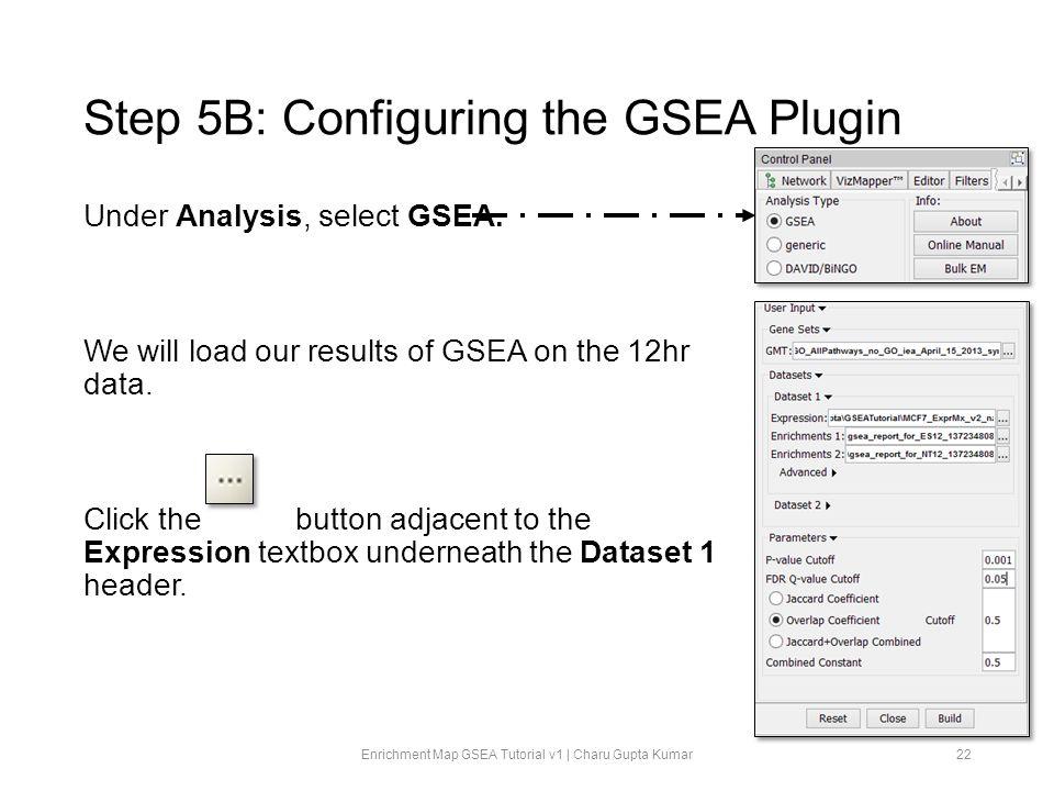 Step 5B: Configuring the GSEA Plugin