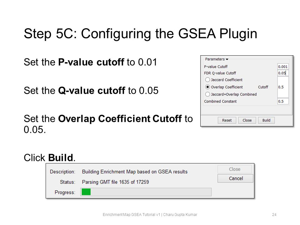 Step 5C: Configuring the GSEA Plugin