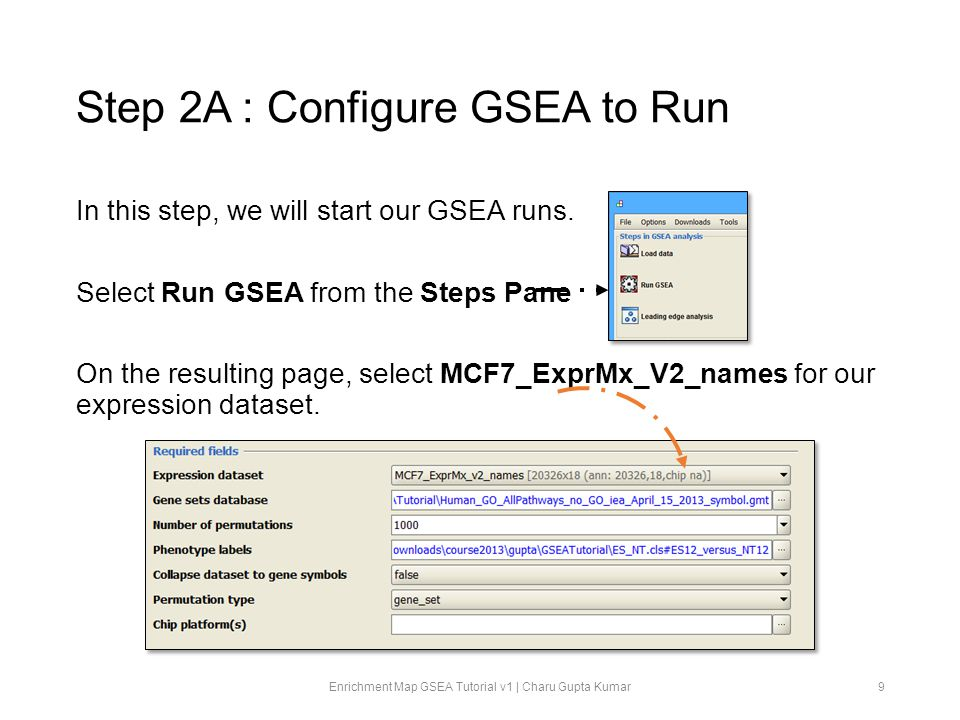 Step 2A : Configure GSEA to Run