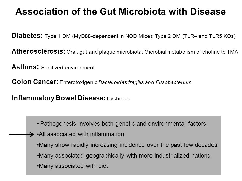 Association of the Gut Microbiota with Disease