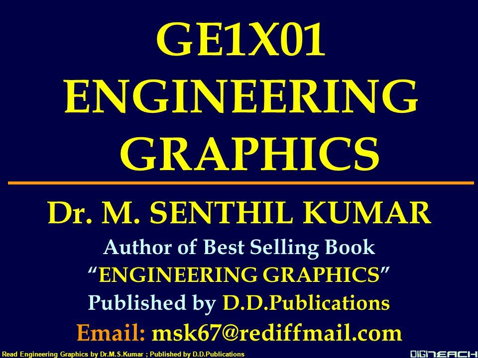 GE1X01 ENGINEERING GRAPHICS