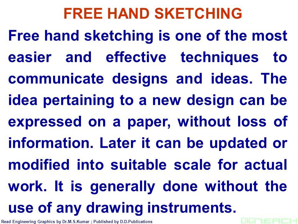 FREE HAND SKETCHING