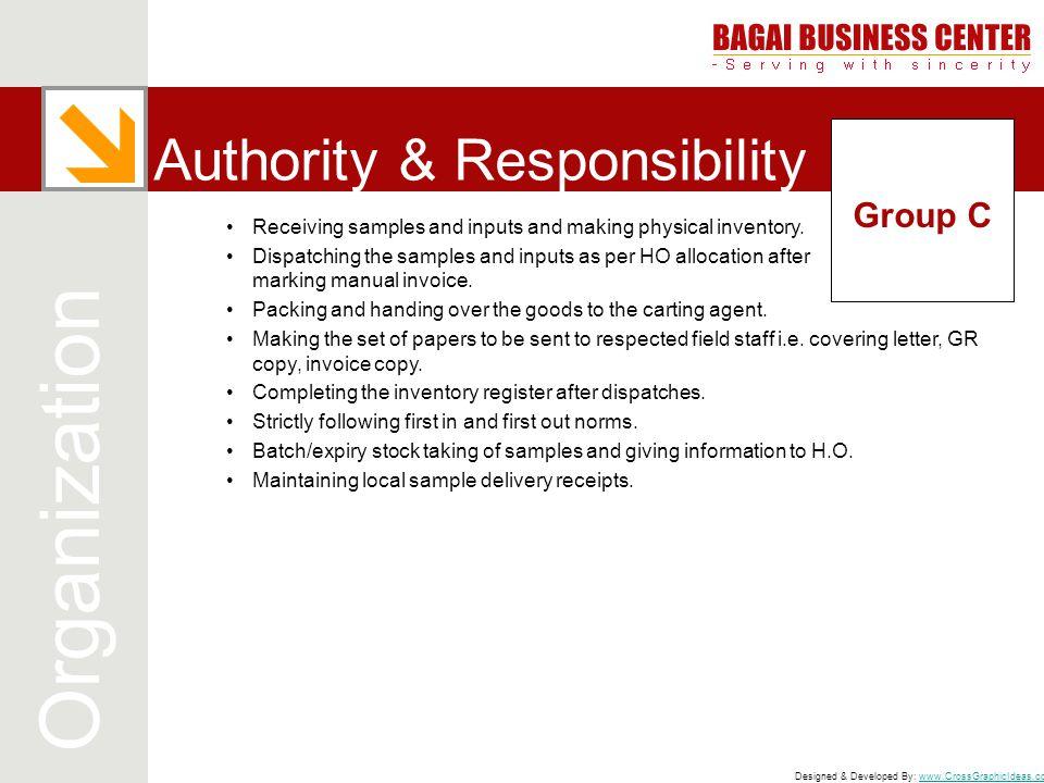 Authority & Responsibility