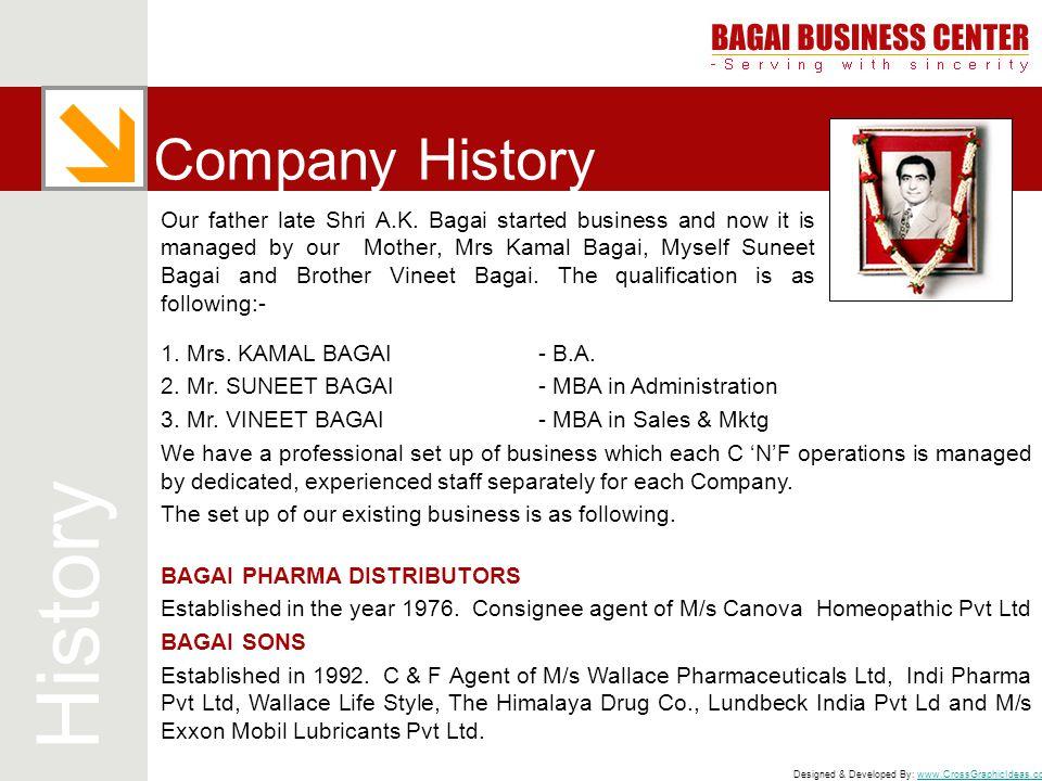 History Company History