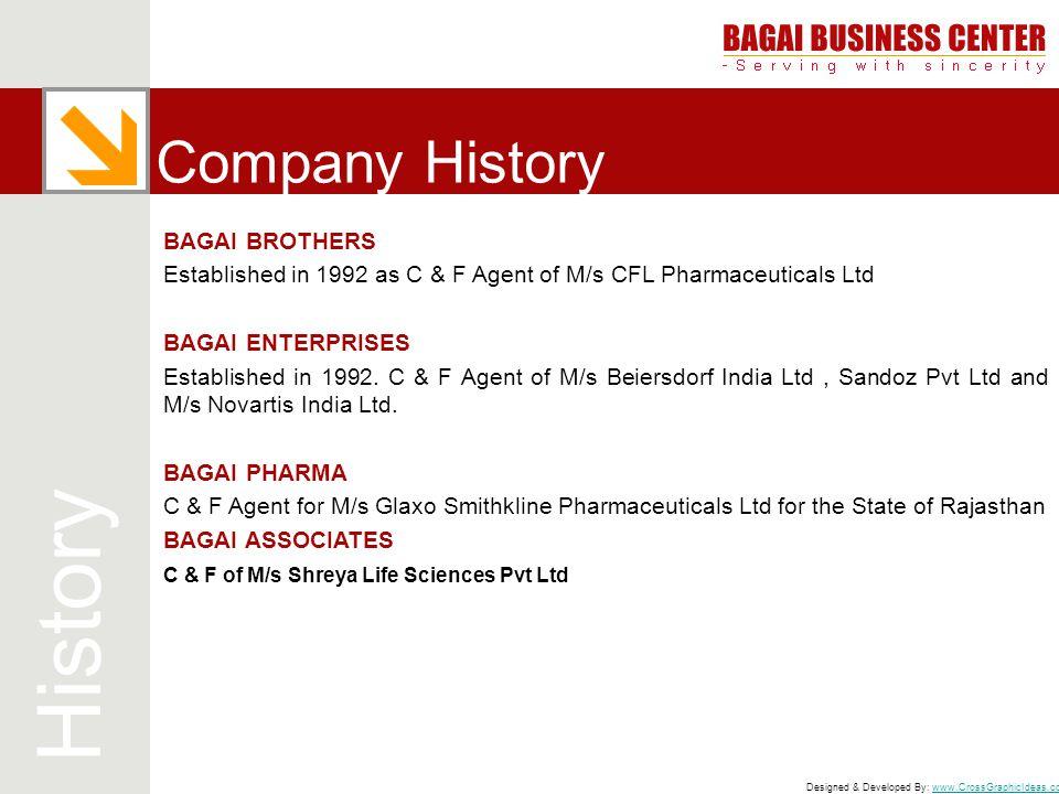 History Company History BAGAI BROTHERS