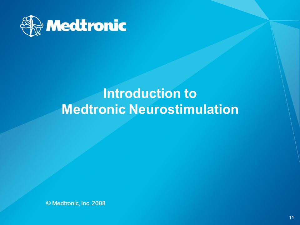 Introduction to Medtronic Neurostimulation