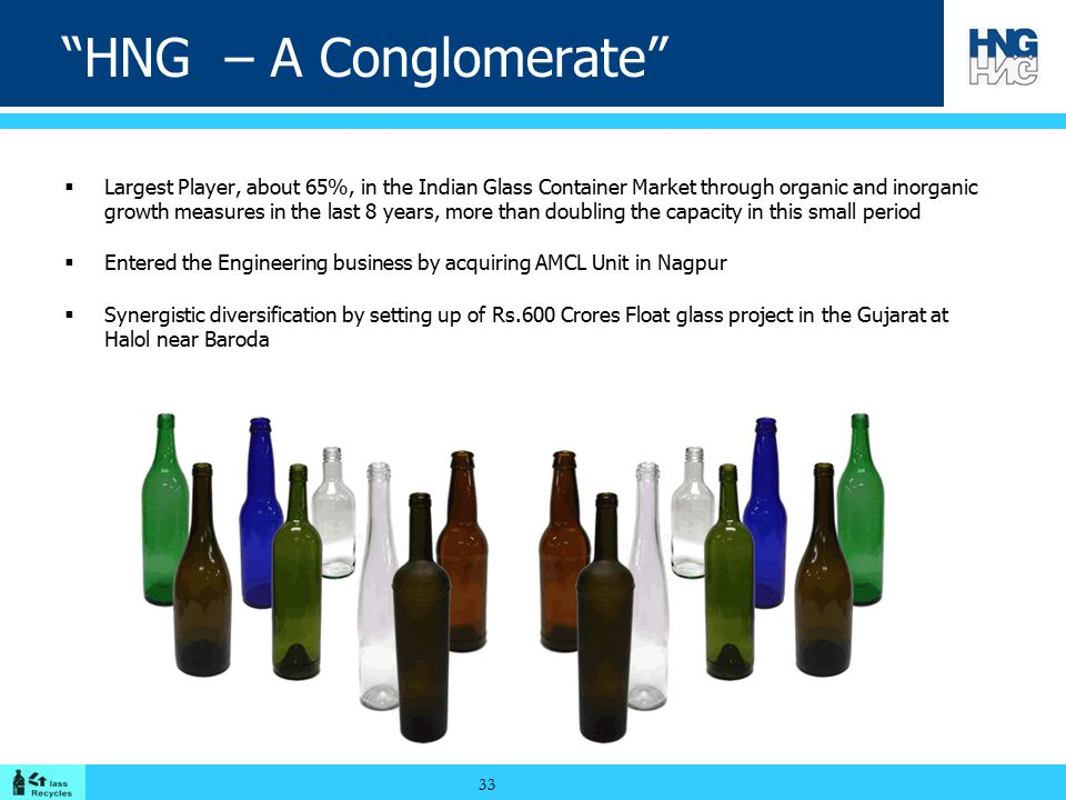 HNG – A Conglomerate