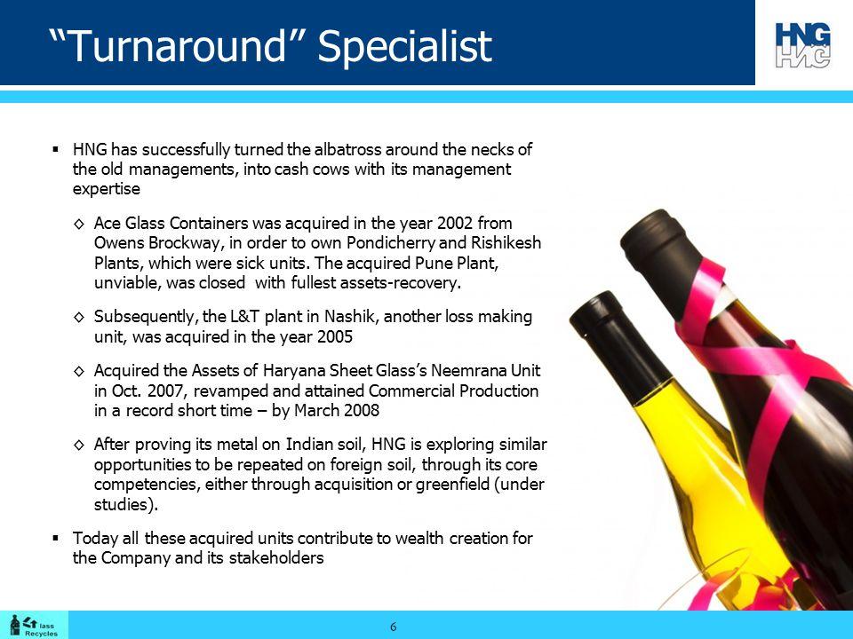 Turnaround Specialist