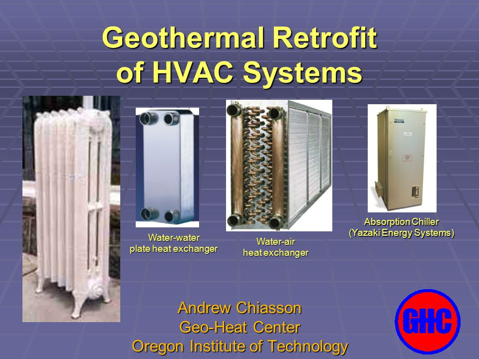 Geothermal Retrofit of HVAC Systems