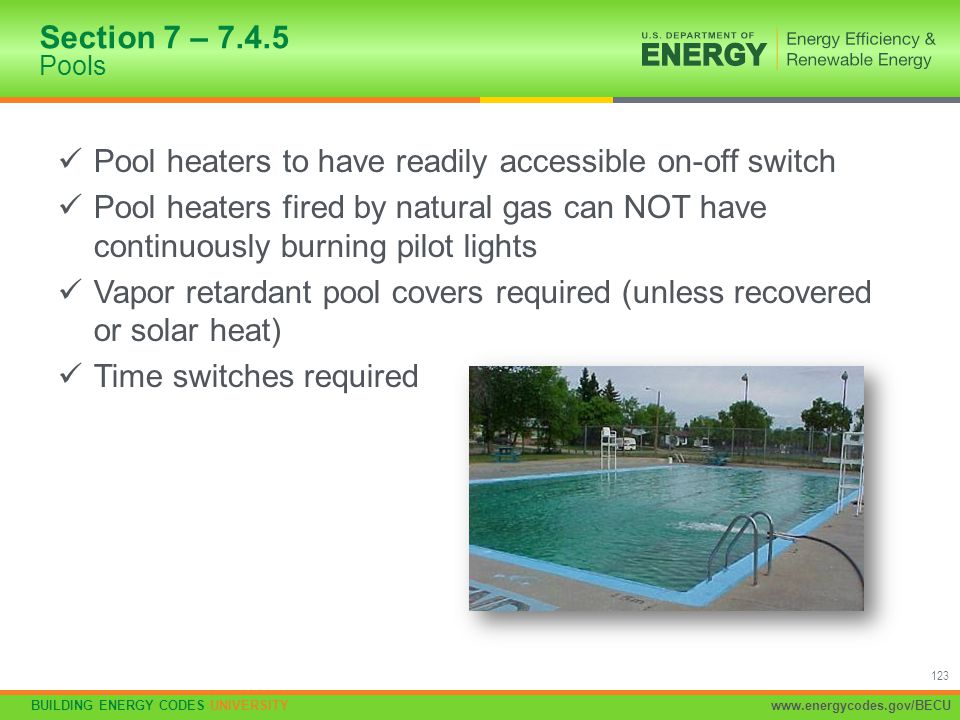 Pool heaters to have readily accessible on-off switch