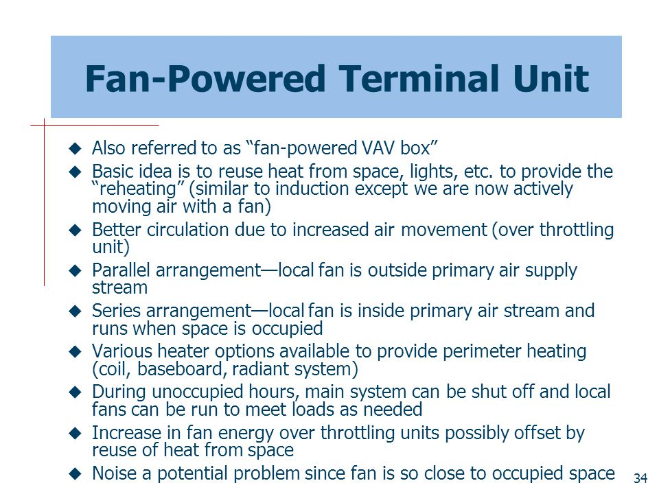 Fan-Powered Terminal Unit