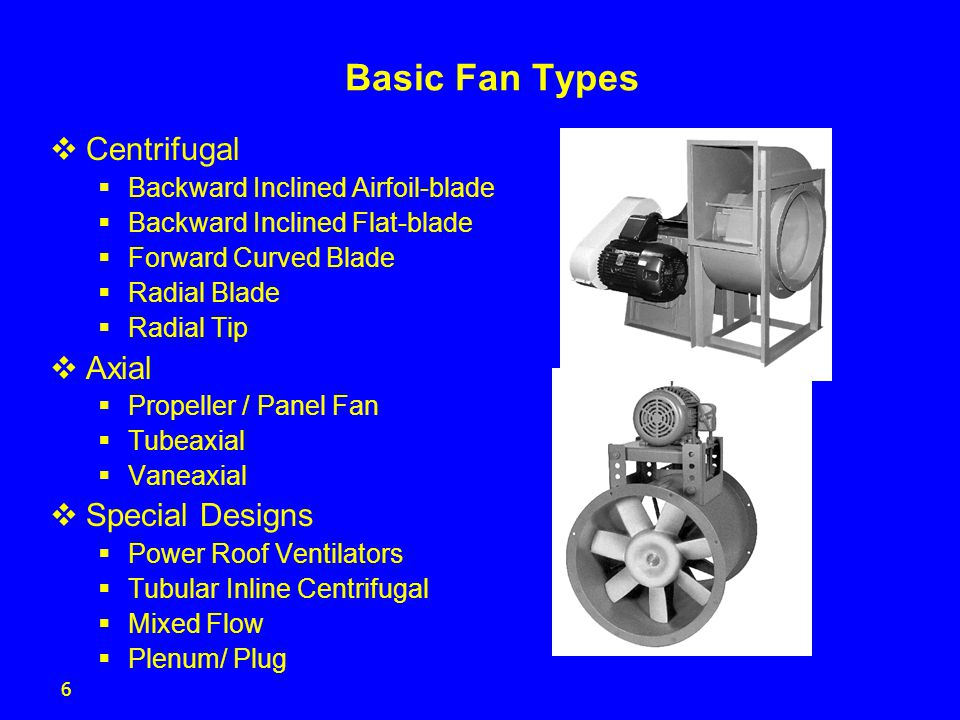 Radial Vs Axial Fan : Fan selection criteria and efficiency ppt video online