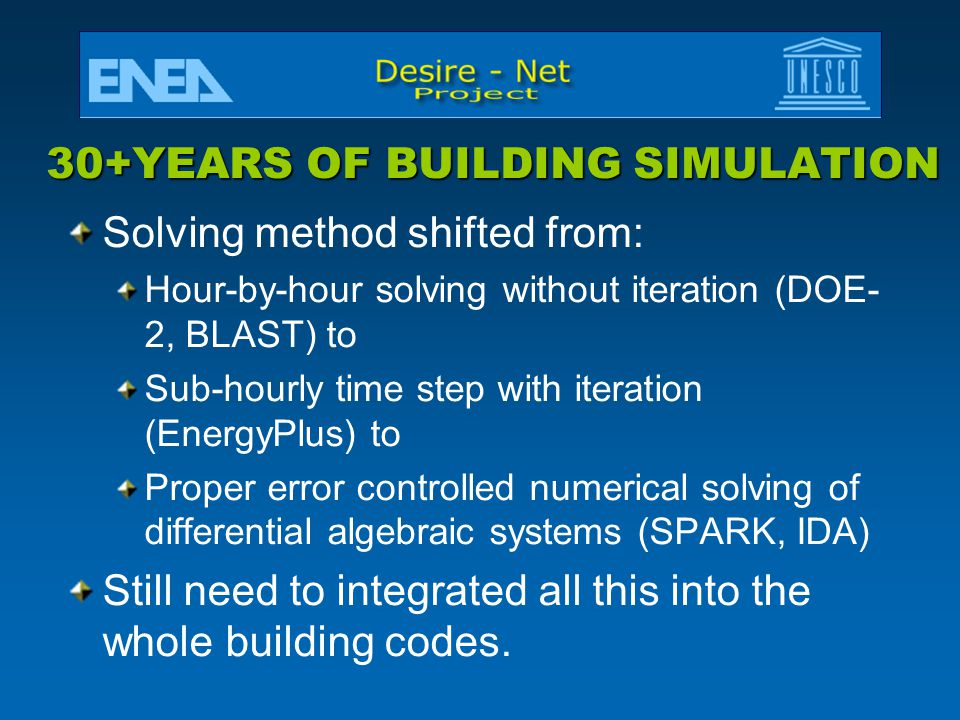 30+YEARS OF BUILDING SIMULATION