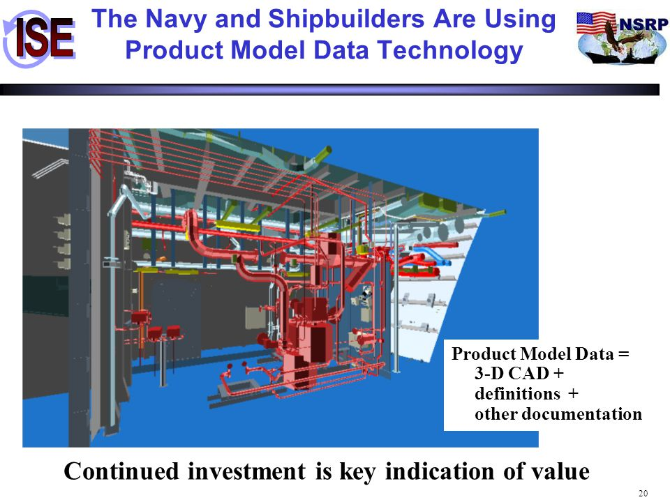 The Navy and Shipbuilders Are Using Product Model Data Technology