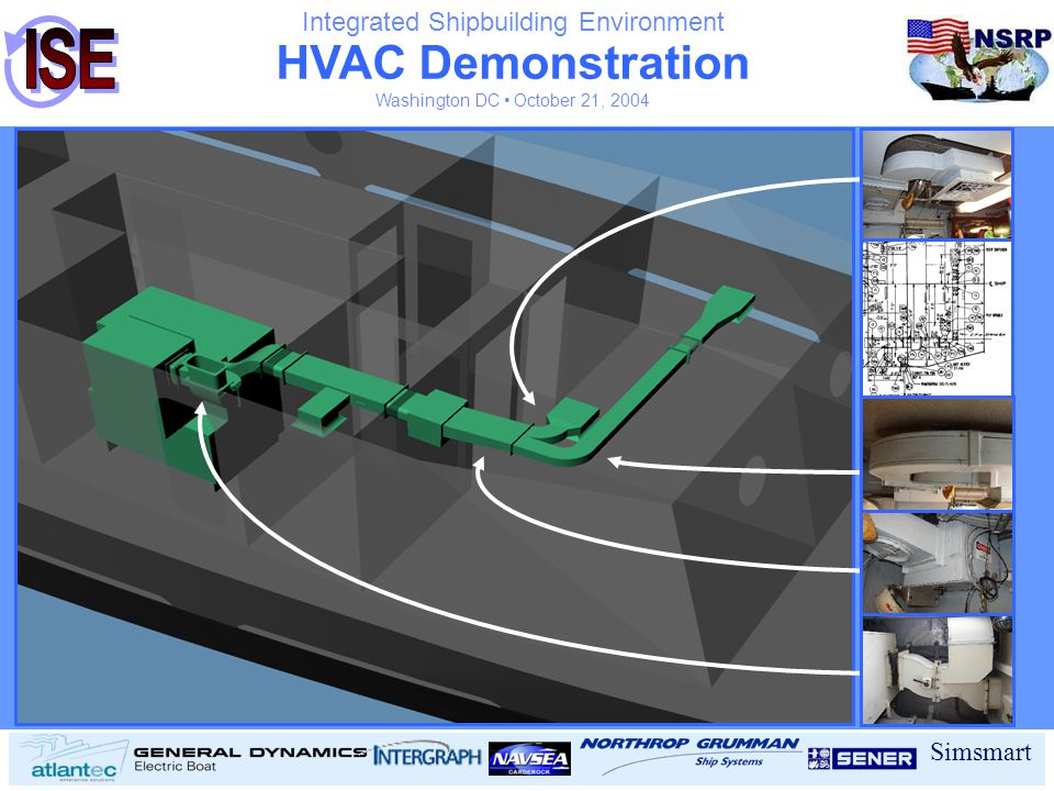 HVAC Demonstration Integrated Shipbuilding Environment Simsmart