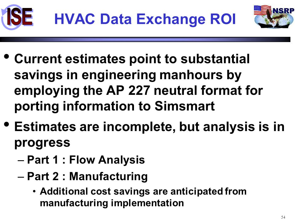 HVAC Data Exchange ROI