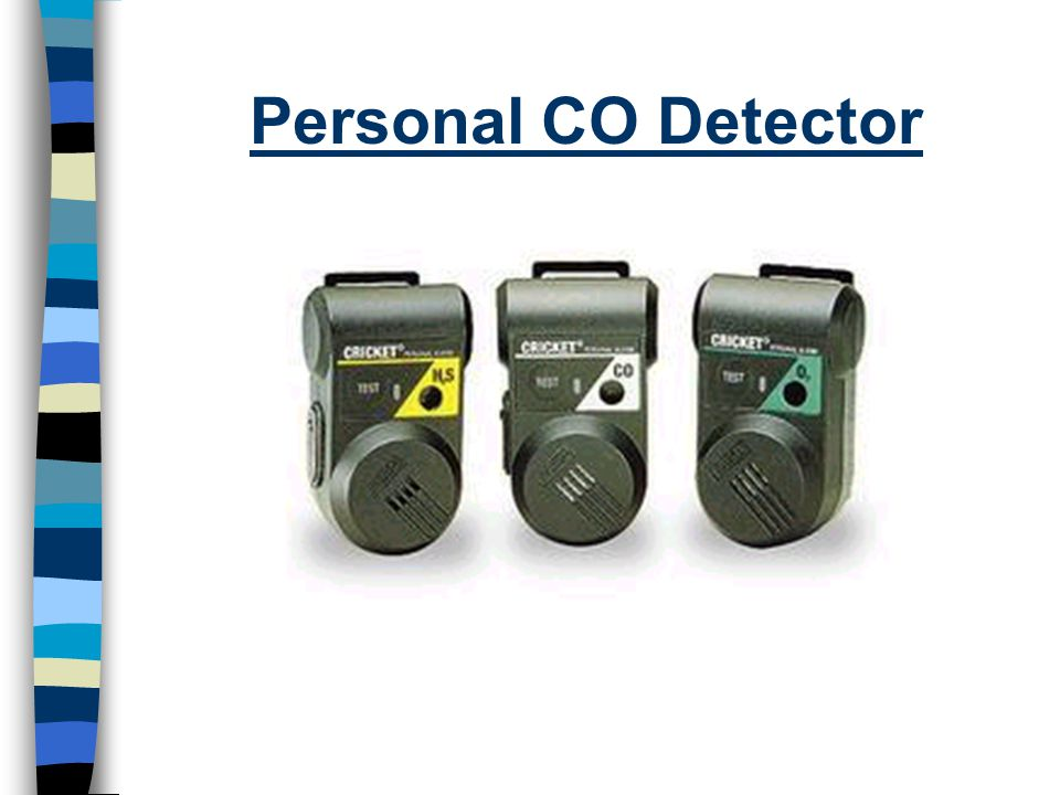 Personal CO Detector
