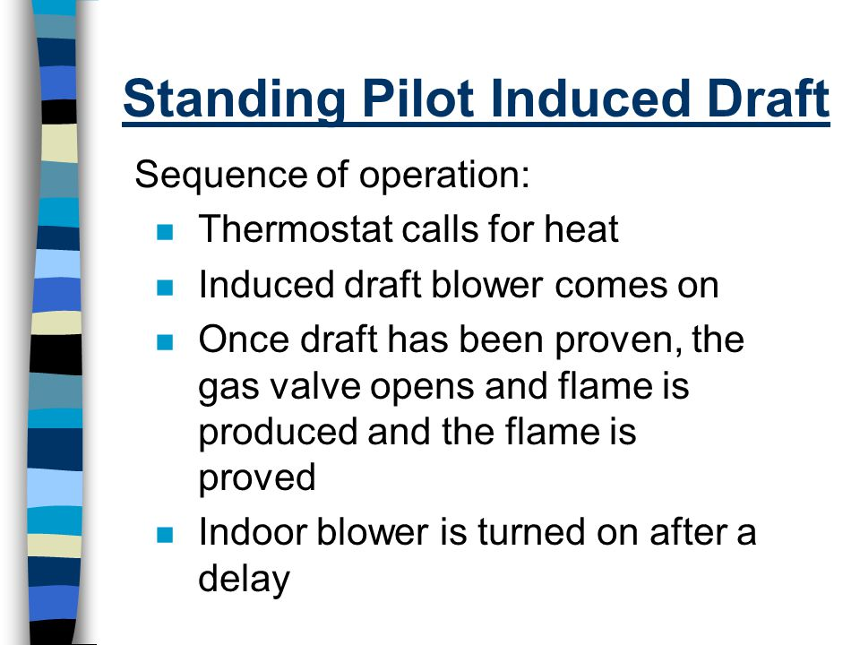 Standing Pilot Induced Draft