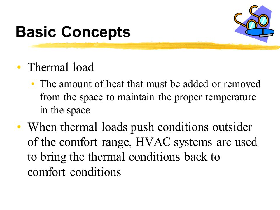 Basic Concepts Thermal load
