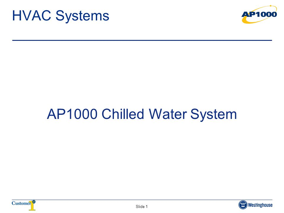 AP1000 Chilled Water System