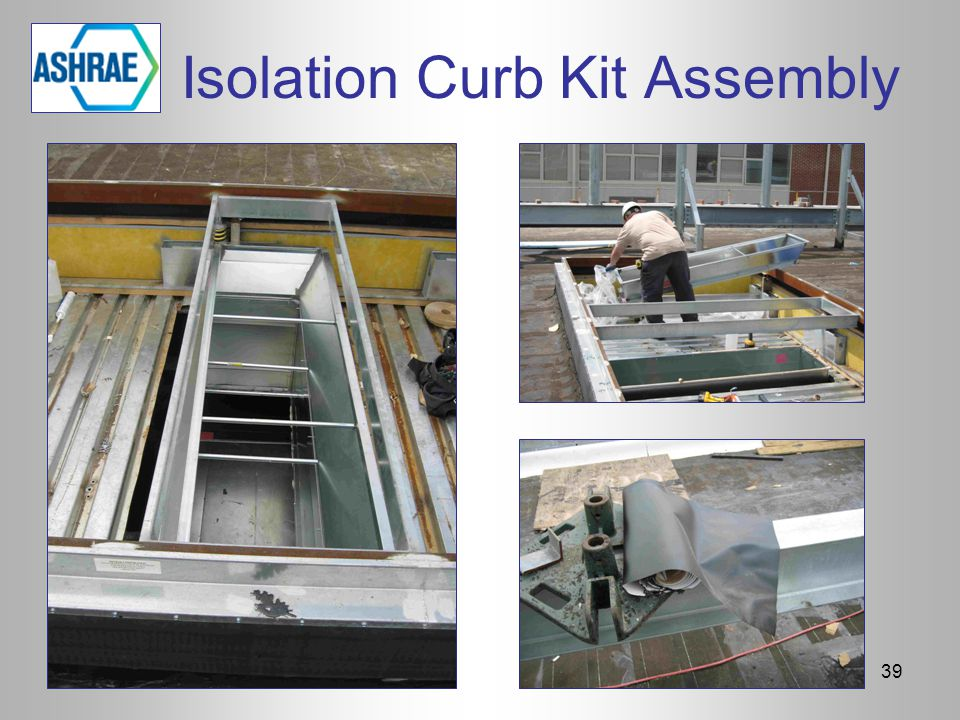 Isolation Curb Kit Assembly