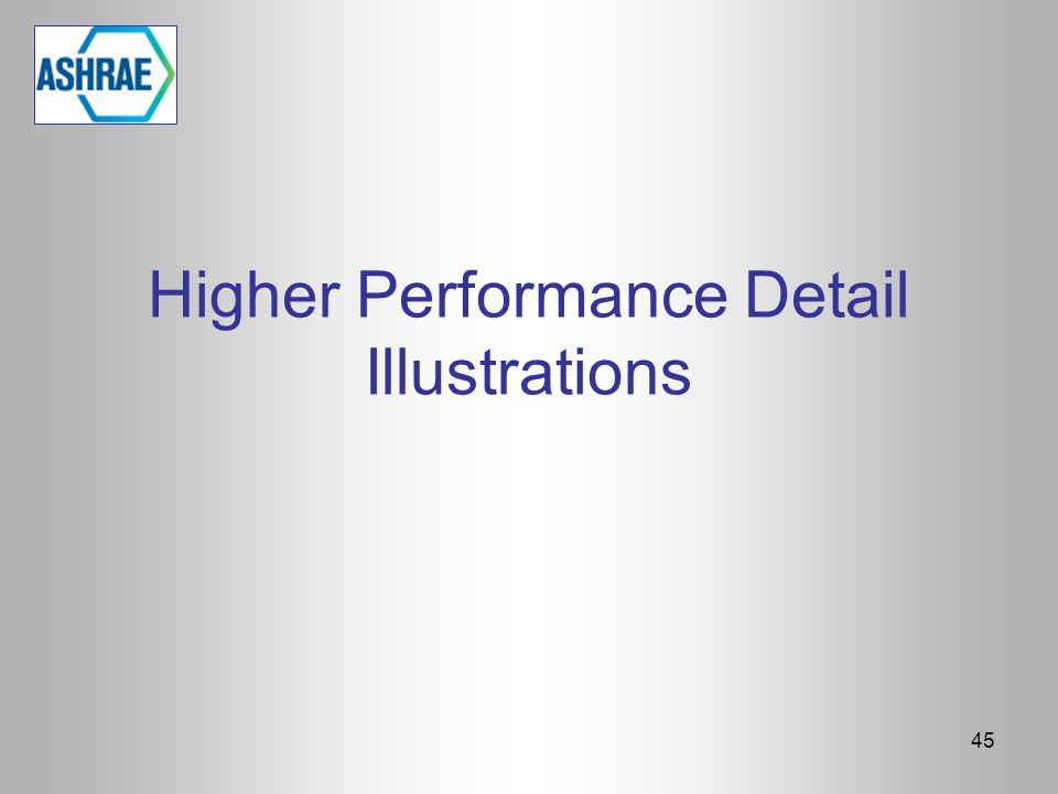 Higher Performance Detail Illustrations