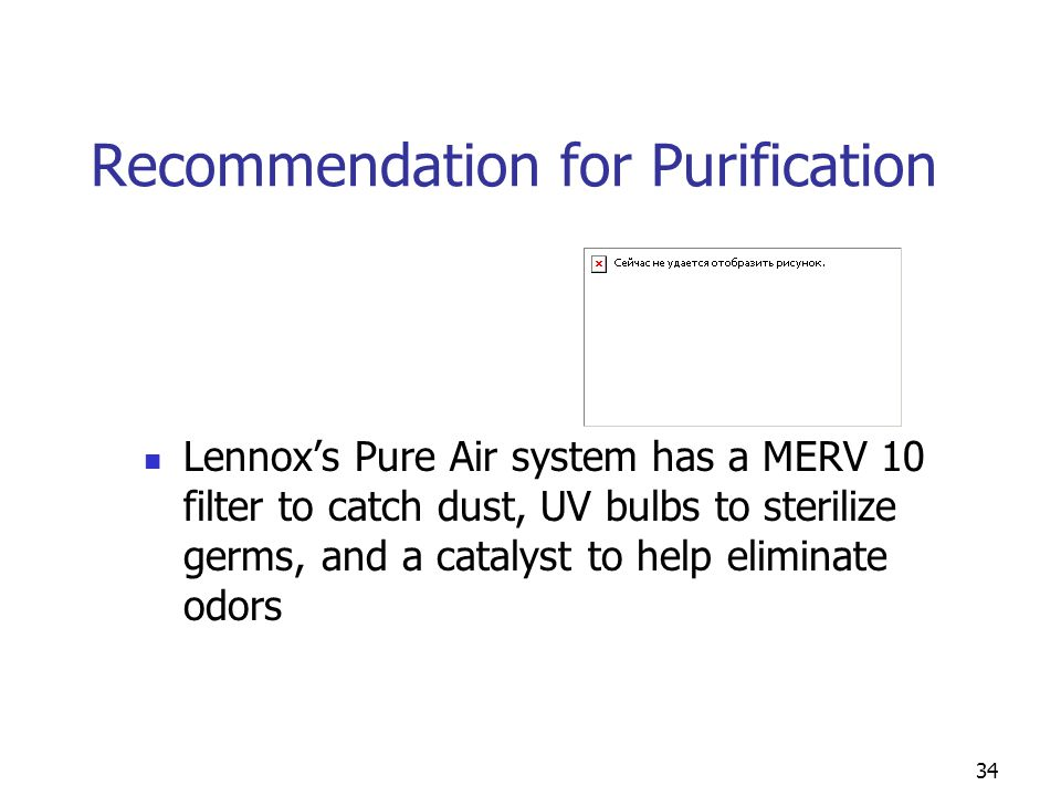 Recommendation for Purification