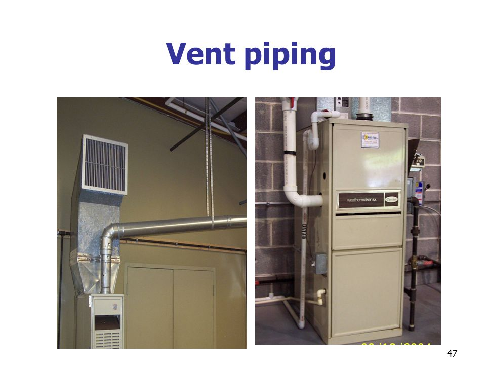 Vent piping