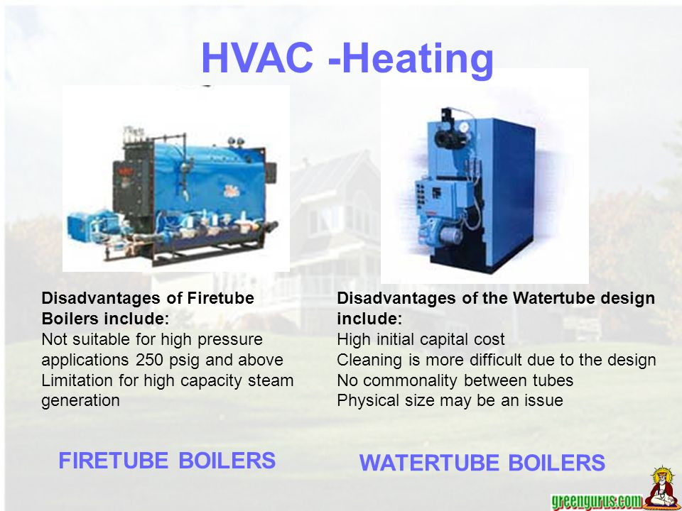HVAC -Heating FIRETUBE BOILERS WATERTUBE BOILERS