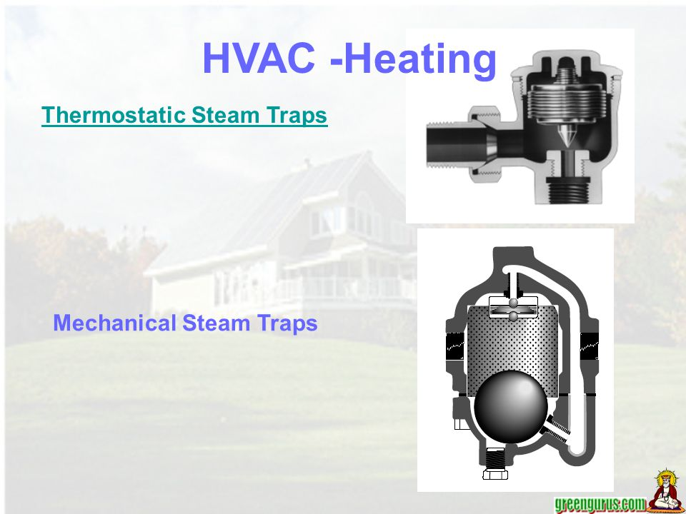 HVAC -Heating Thermostatic Steam Traps Mechanical Steam Traps
