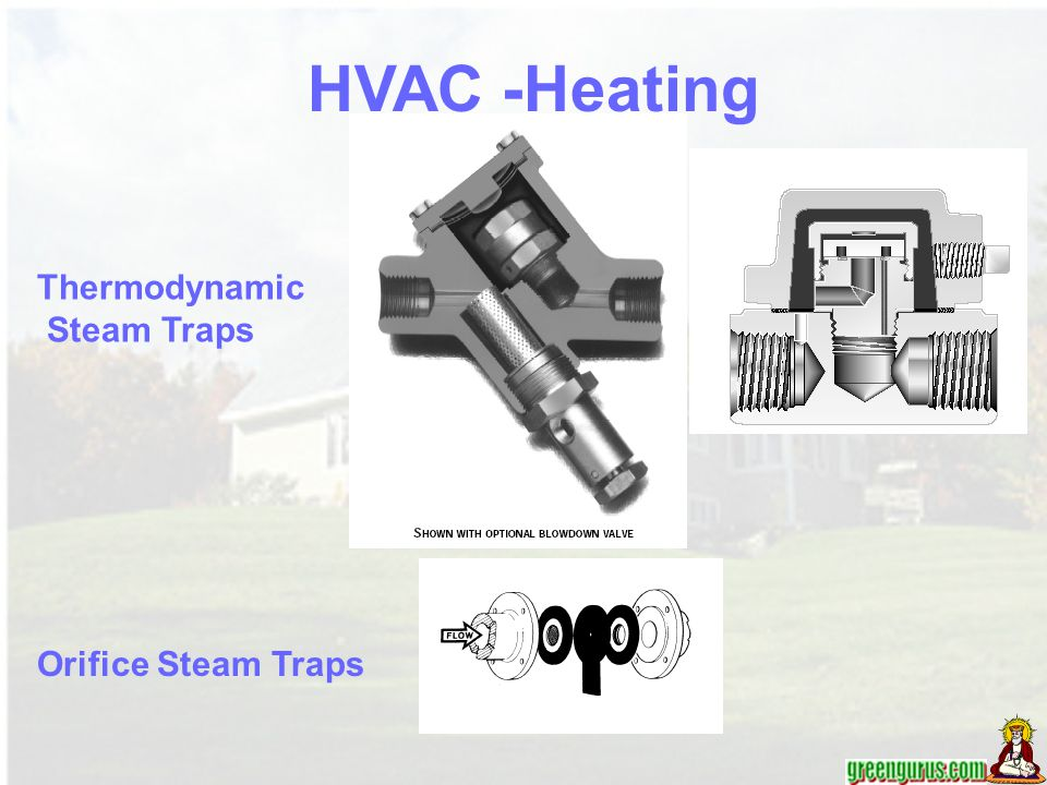 HVAC -Heating Thermodynamic Steam Traps Orifice Steam Traps